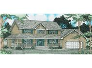 Main image for house plan # 13104