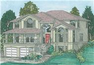 Main image for house plan # 13106