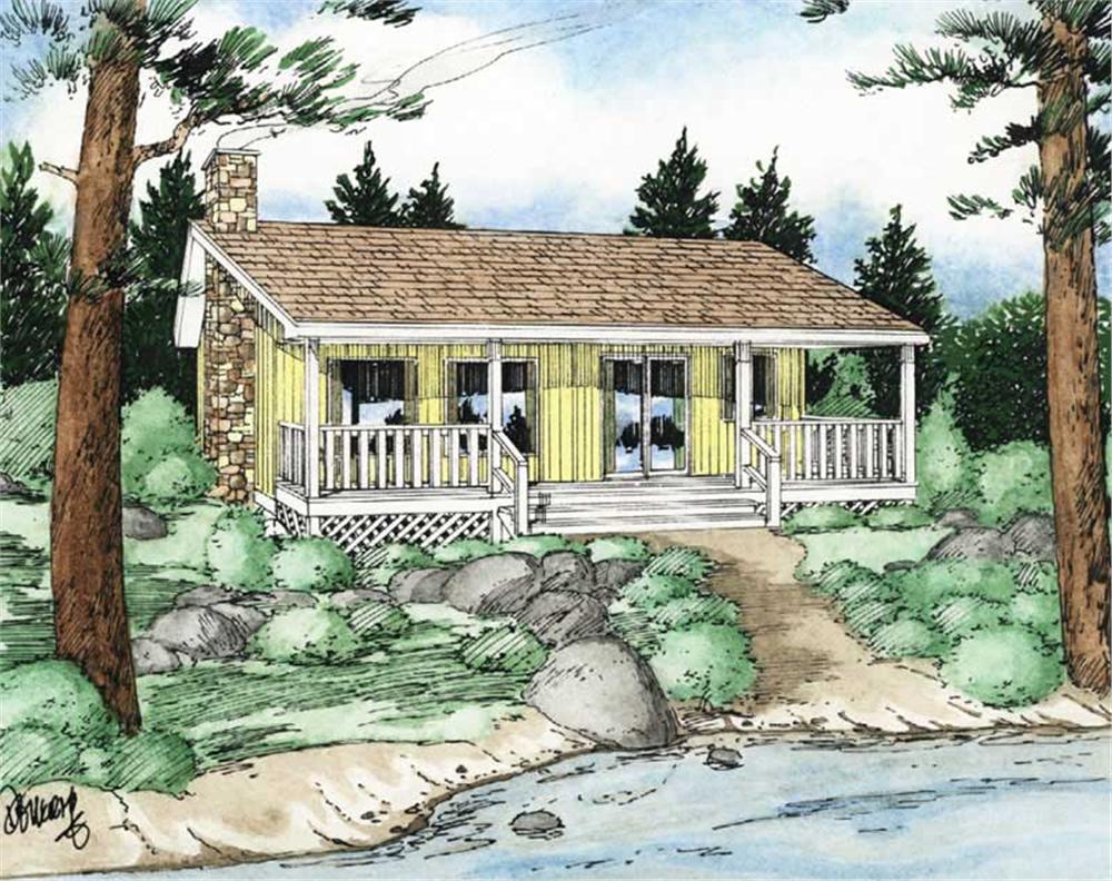 Main image for house plan # 13075