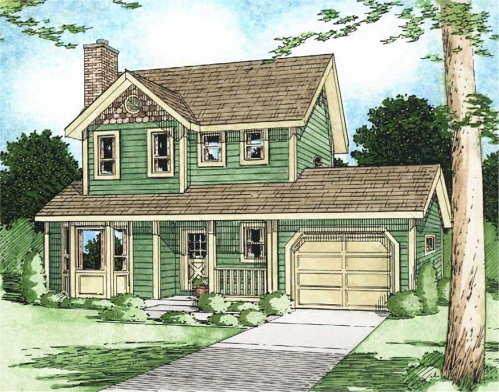Main image for house plan # 13083