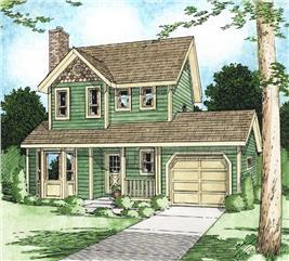 House Plan #177-1021