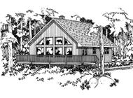 Main image for house plan # 13103