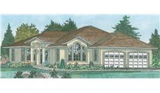 Main image for house plan # 13107