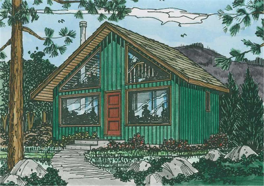 Main image for house plan # 13112