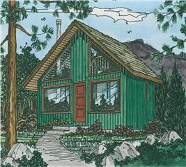 House Plan #177-1027