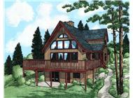 Main image for house plan # 13068