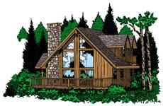 Main image for house plan # 13070
