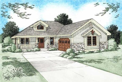 Main image for house plan # 13100