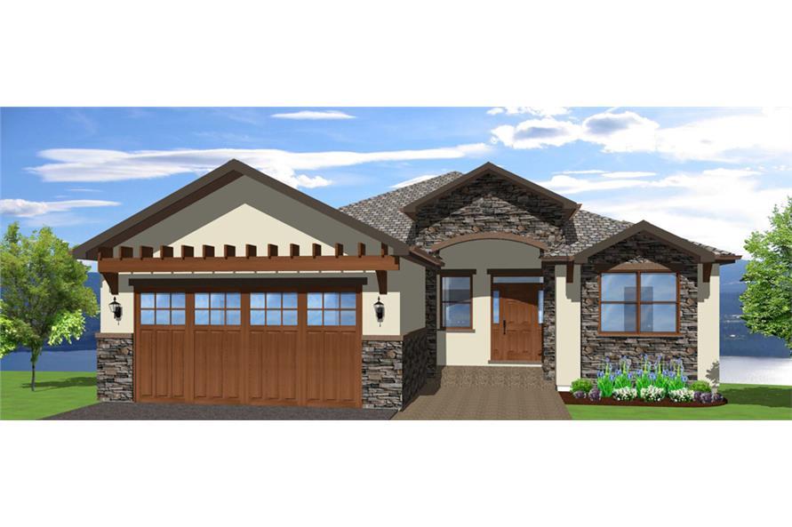 mediterranean house plan #177-1041: 5 bedrm, 3850 sq ft home