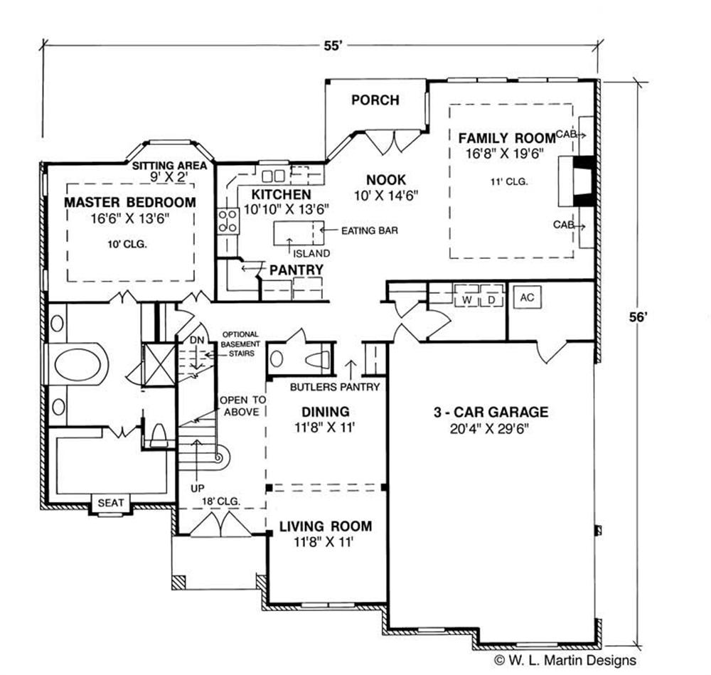 Large Images For House Plan 178 1001