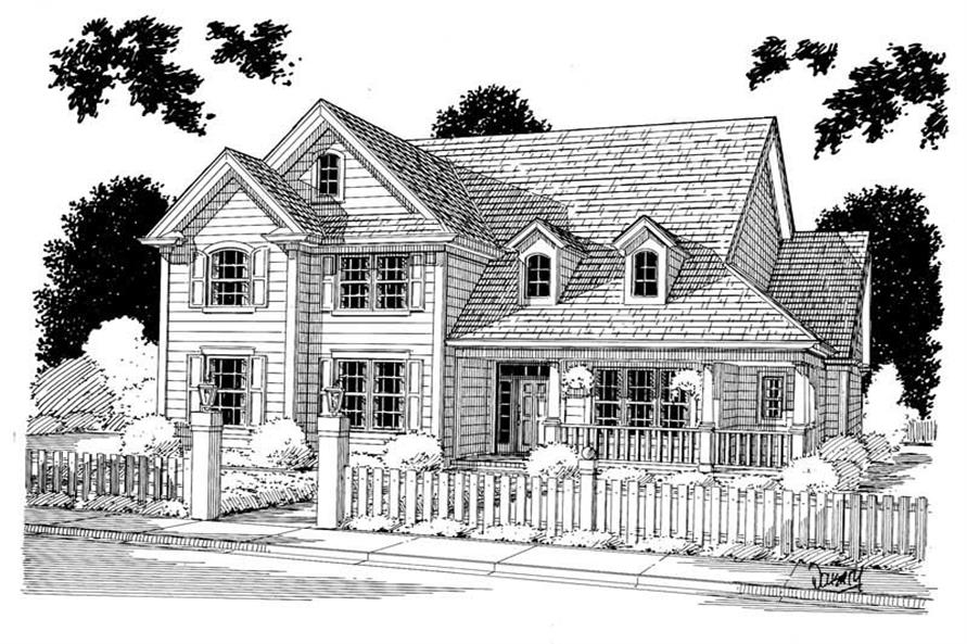 Main image for house plan # 5365
