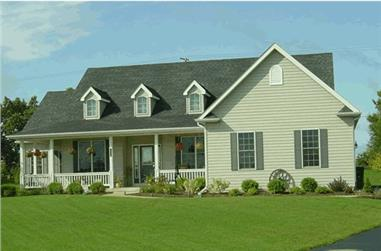 3-Bedroom, 2126 Sq Ft Country Home Plan - 178-1003 - Main Exterior