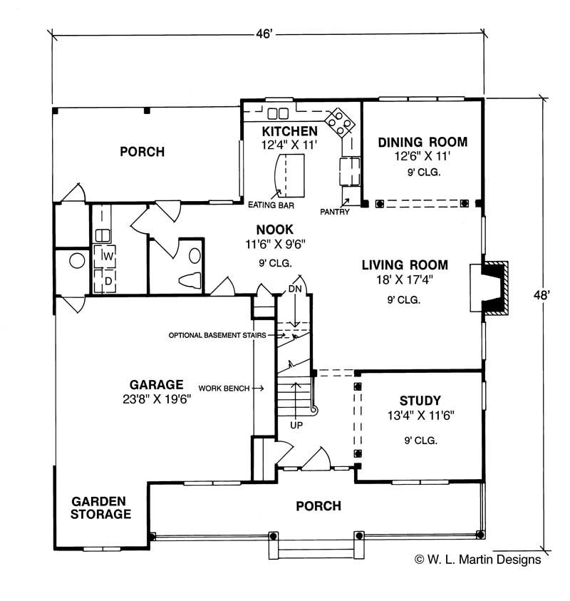 Traditional country house plans home design dinsmore 5378 for The dinsmore house