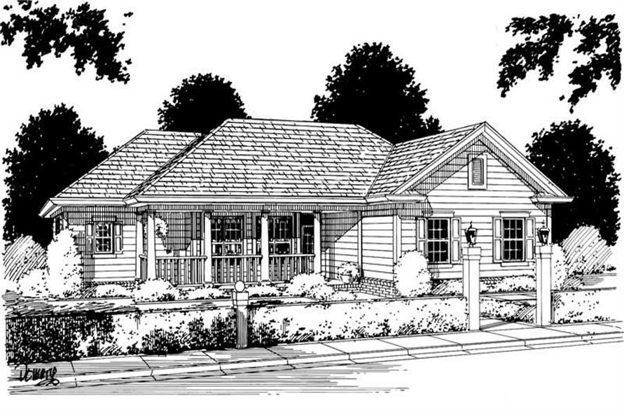 Main image for house plan # 5377