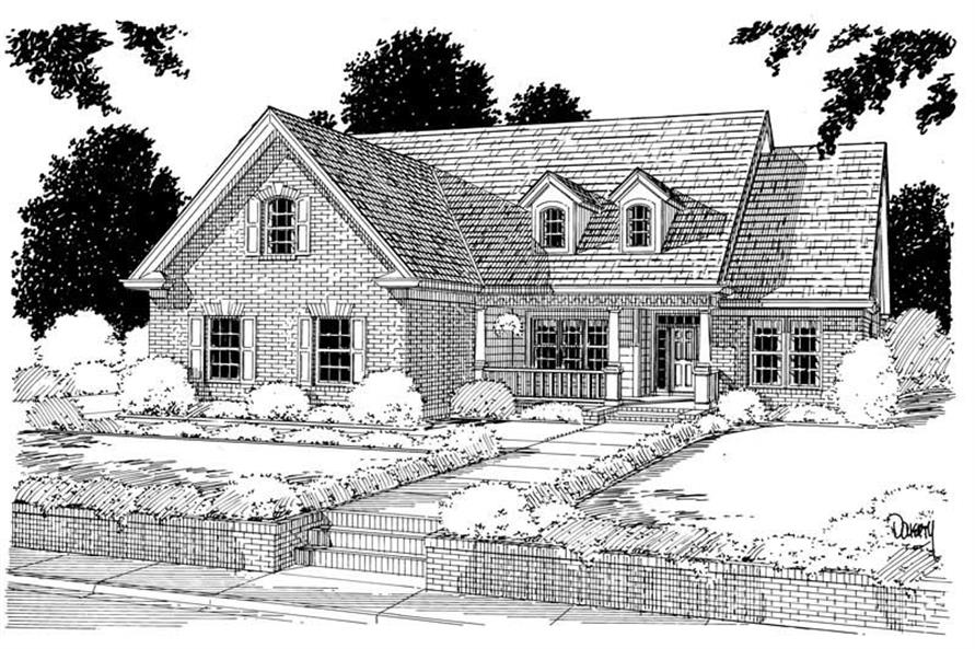 Main image for house plan # 5359