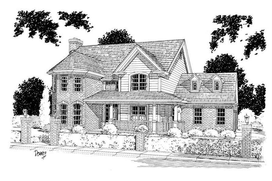 Main image for house plan # 5381