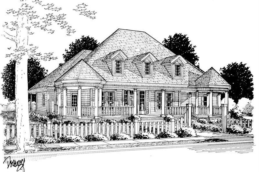 Rendering of this 4-Bedroom,2349 Sq Ft Plan -2349