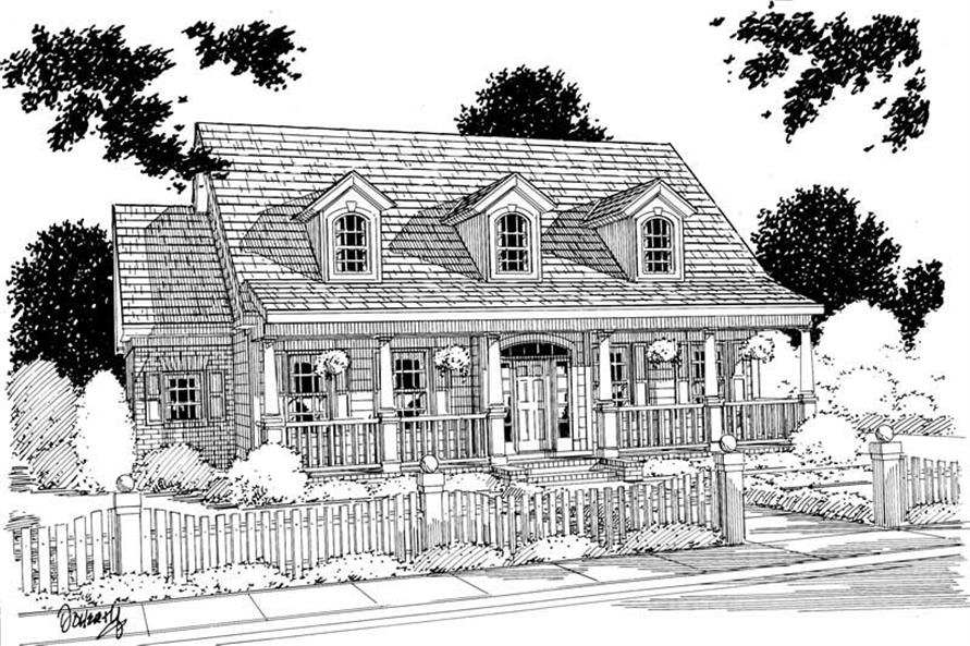 Main image for house plan # 5353