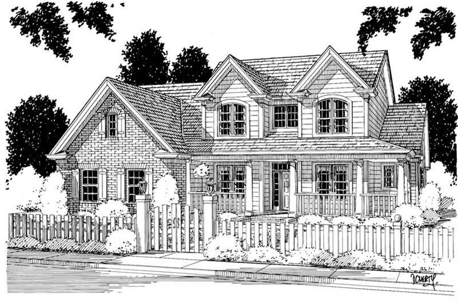 Main image for house plan # 5356