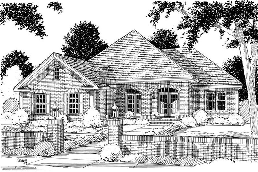 Main image for house plan # 5340