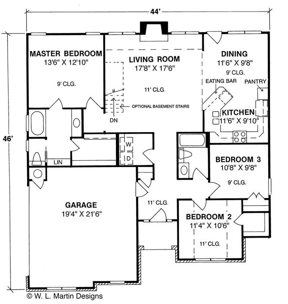 Large Images For House Plan 178 1036