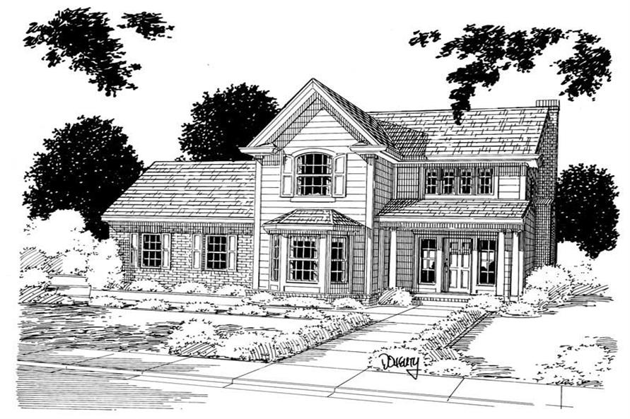 Main image for house plan # 5370