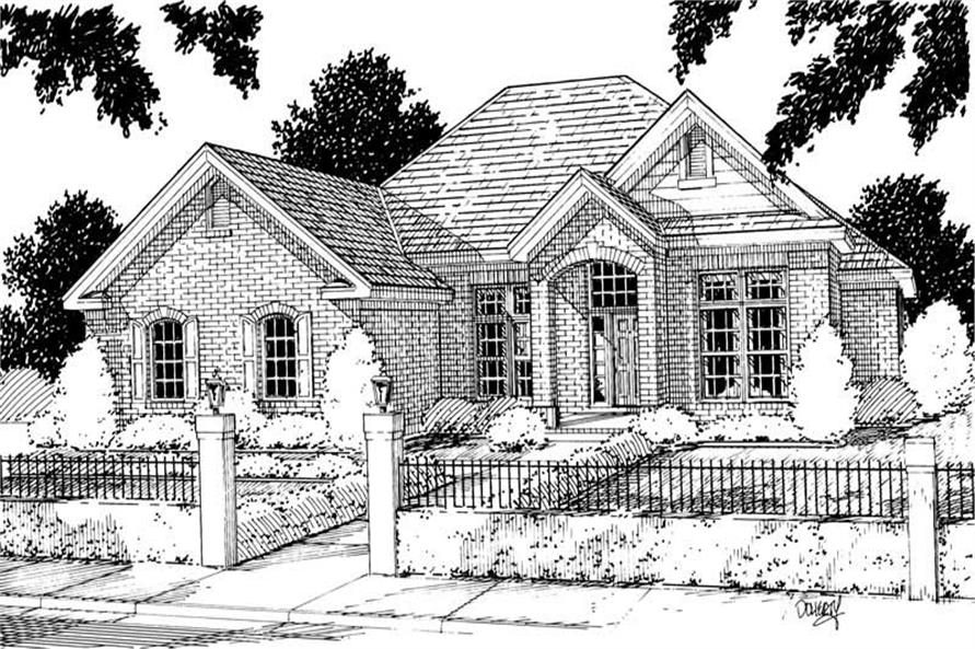 Main image for house plan # 5342
