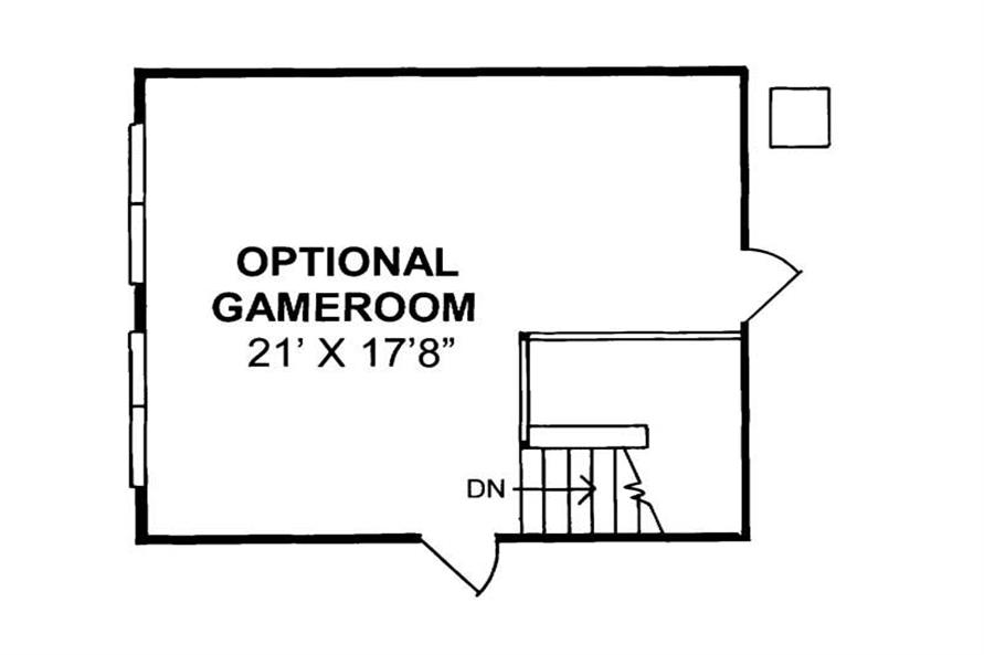Optional Floor Plan of this 4-Bedroom,2546 Sq Ft Plan -2546