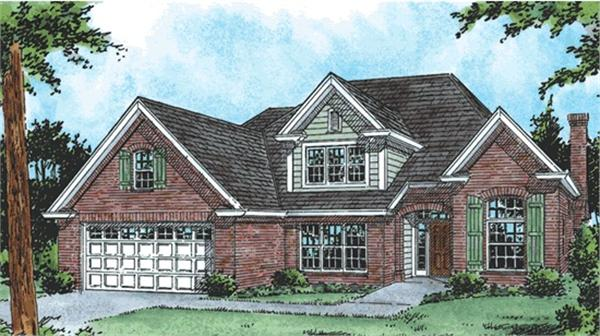 Main image for house plan # 5856