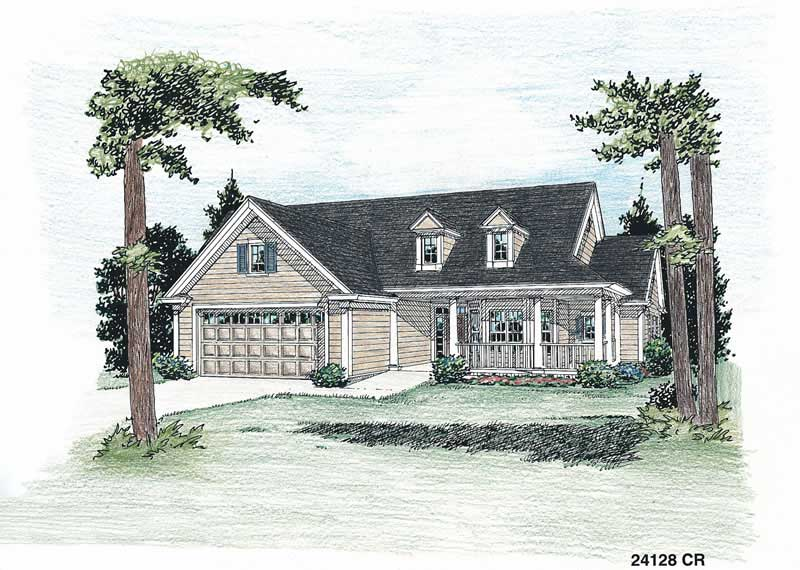 House Plan Small Home Design: Country - Ranch Home With 3 Bedrooms, 1859 Sq Ft