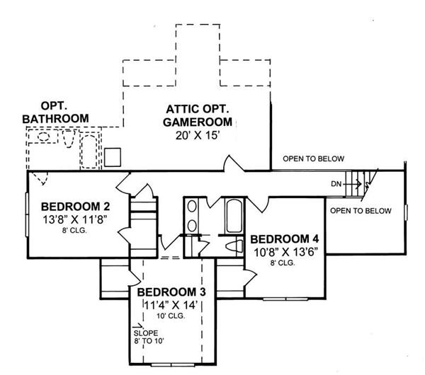 Fillmore Design House Plans Floor Plans
