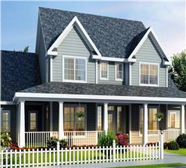 House Plan #178-1080
