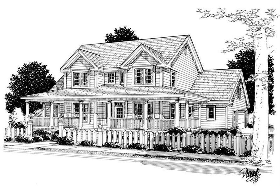 Rendering of this 4-Bedroom,1980 Sq Ft Plan -1980