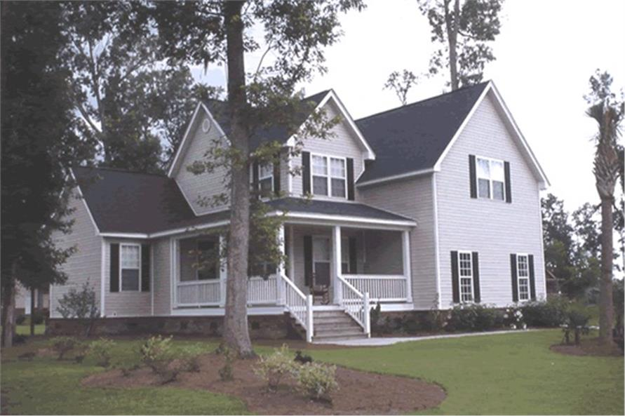 3-Bedroom, 1867 Sq Ft Country House Plan - 178-1081 - Front Exterior