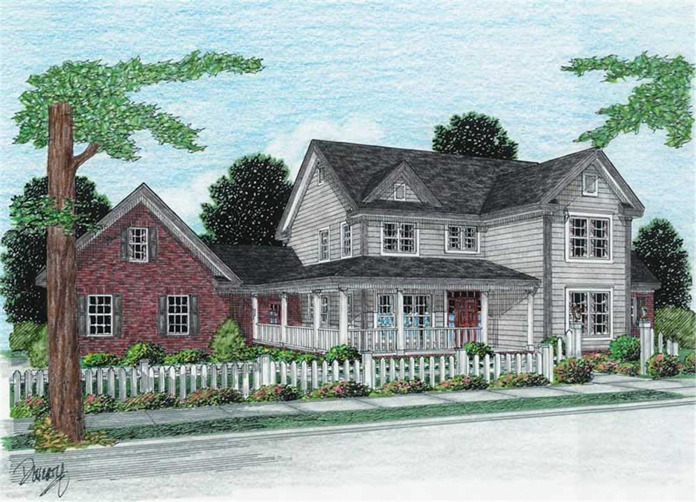 Main image for house plan # 5867