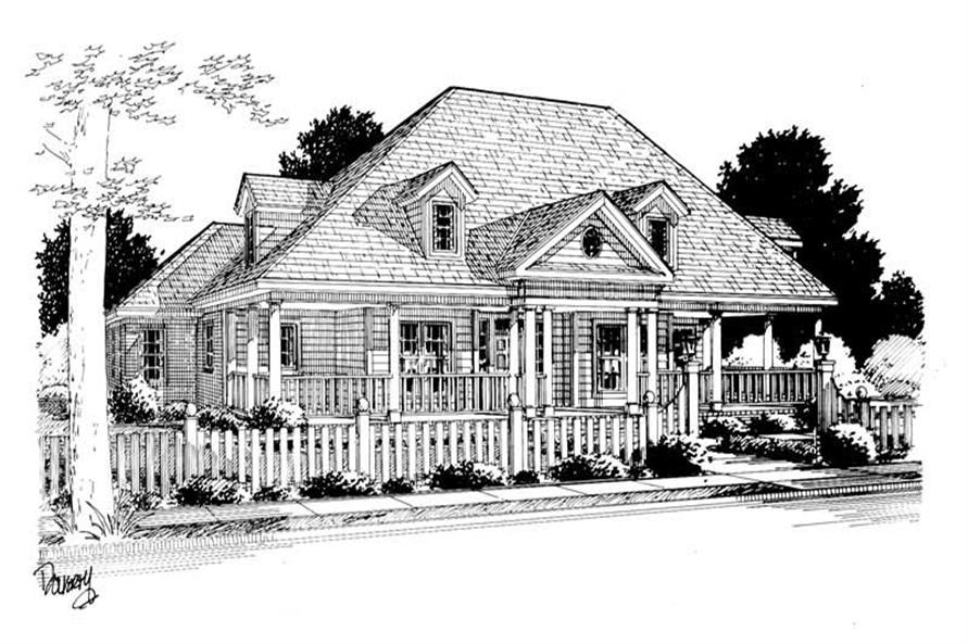 Rendering of this 3-Bedroom,2135 Sq Ft Plan -2135