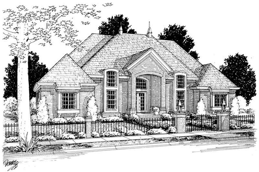 Main image for house plan # 5439