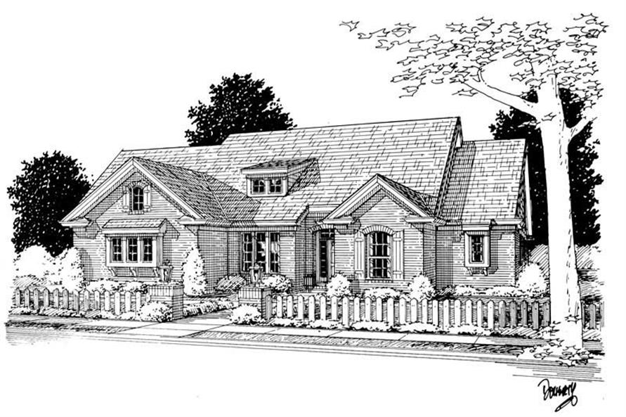 Main image for house plan # 5452