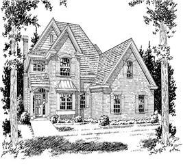 House Plan #178-1092