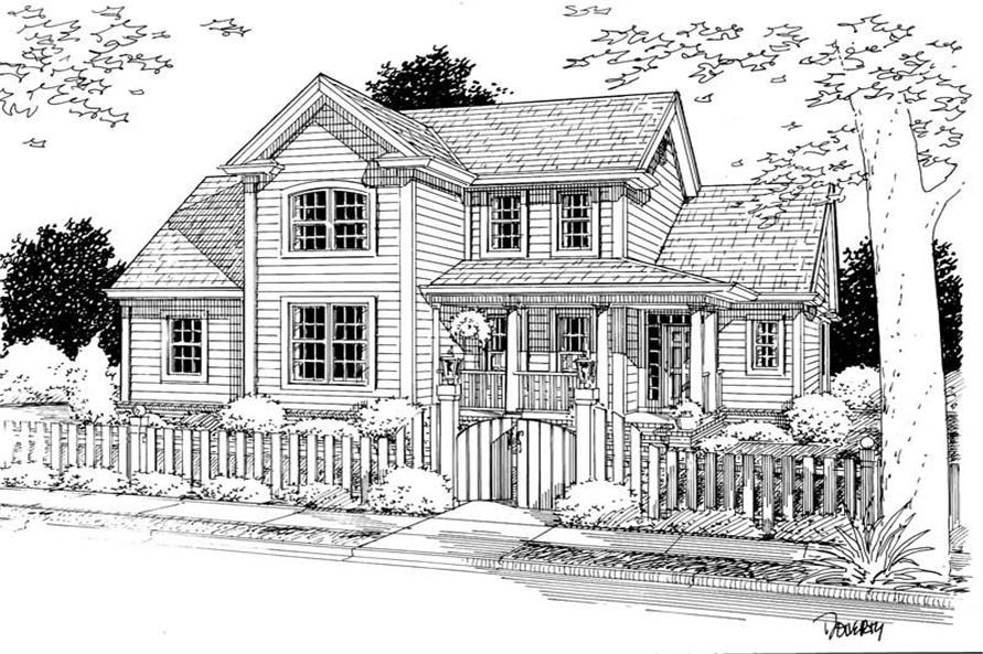 Main image for house plan # 5446