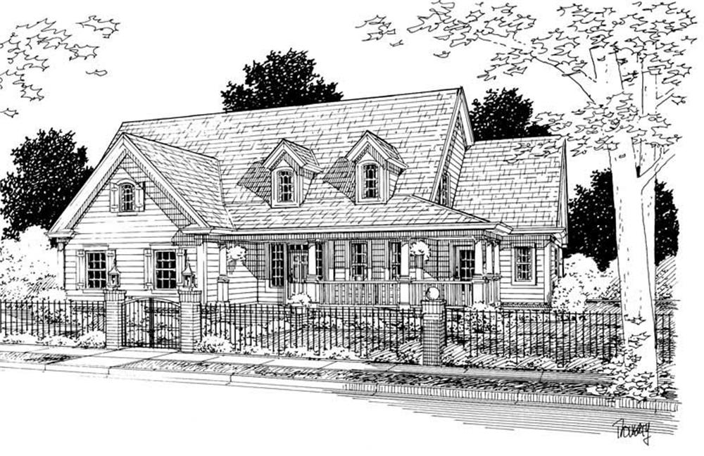 Main image for house plan # 5442