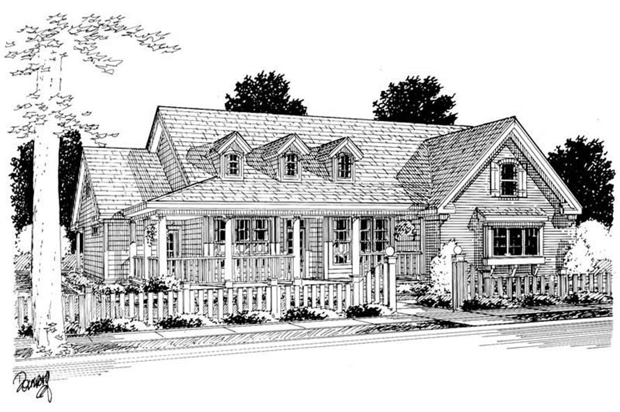 Rendering of this 3-Bedroom,1838 Sq Ft Plan -1838