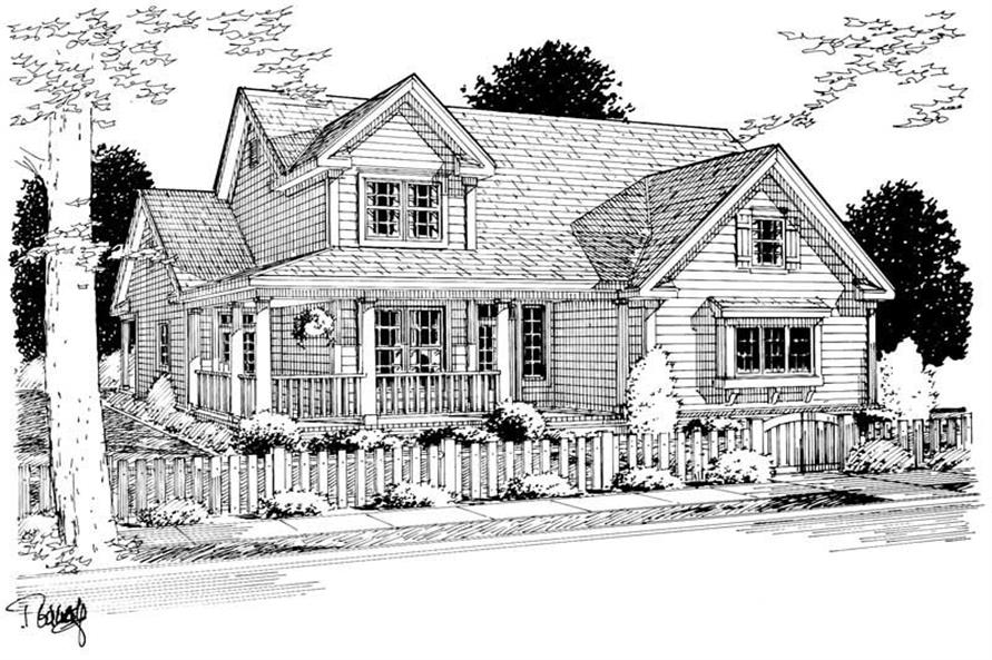 Rendering of this 3-Bedroom,2005 Sq Ft Plan -2005