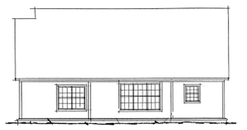 House plan 178 1100 3 bedroom 1407 sq ft country for 1100 sq ft ranch house plans