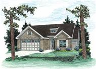 Main image for house plan # 5853