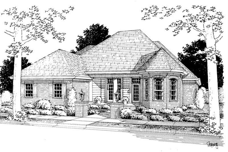 Main image for house plan # 5438