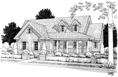 4-Bedroom, 1690 Sq Ft Country House Plan - 178-1102 - Front Exterior