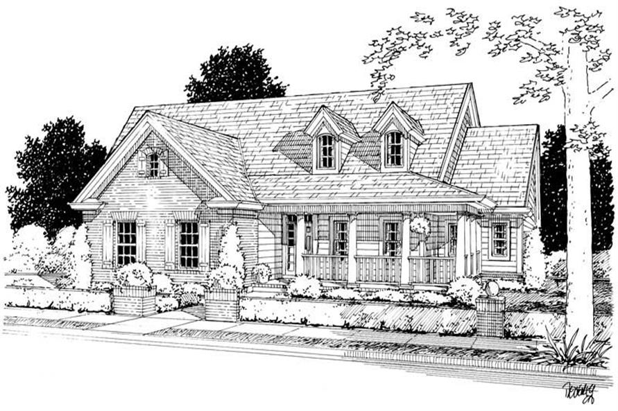 Main image for house plan # 5437