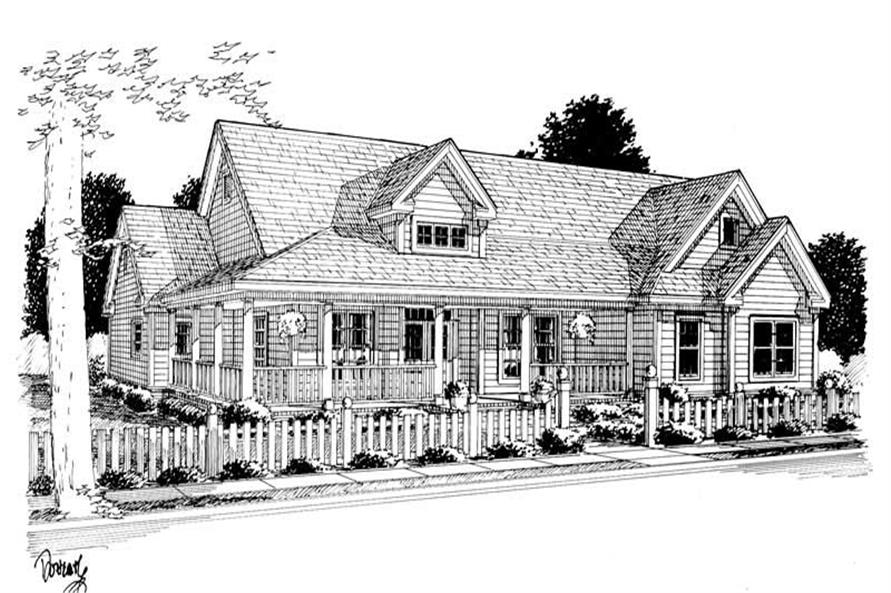 Rendering of this 3-Bedroom,2512 Sq Ft Plan -2512
