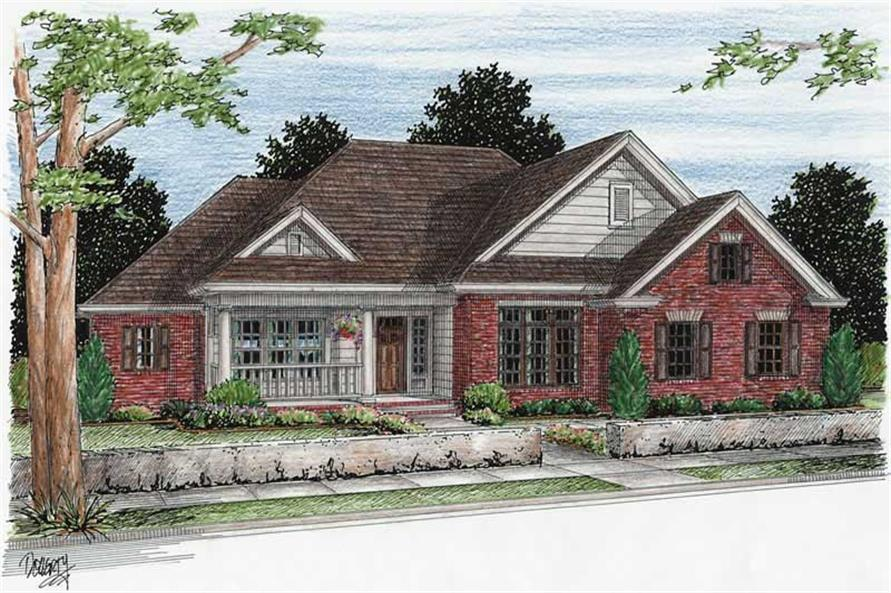 Main image for house plan # 5431